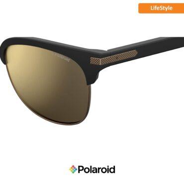 Слънчеви очила POLAROID 2076/S MATT BLACK grey goldmir с поляризация