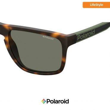 Слънчеви очила POLAROID 2079/S HAVANA GREEN green с поляризация