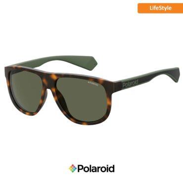 Слънчеви очила POLAROID 2080/S HAVANA GREEN green с поляризация