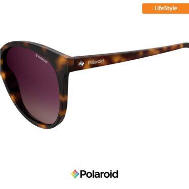Слънчеви очила POLAROID 4086/S DARK HAVANA burgundy sf с поляризация