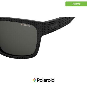 Слънчеви спортни очила POLAROID 7025/S MATT BLACK grey с поляризация