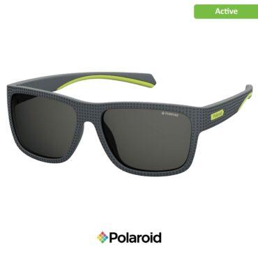 Спортни очила POLAROID 7025/S DKGRY YELFLU grey с поляризация