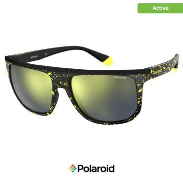 Спортни очила POLAROID 7033/S PATT YELLOW grey goldmir с поляризация