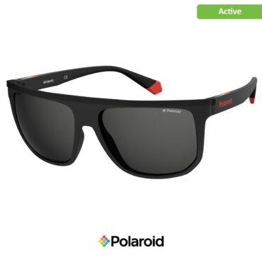 Слънчеви очила за спорт POLAROID 7033/S BLACK grey с поляризация