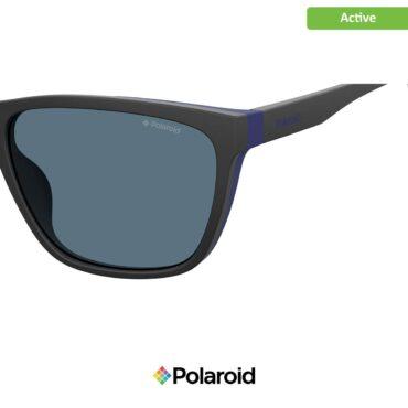 Слънчеви спортни очила POLAROID 7034/G/S BLACK BLUE red sp с поляризация
