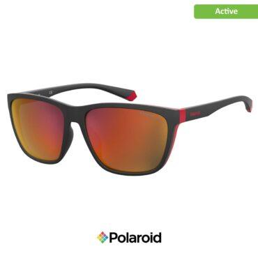 Спортни очила POLAROID 7034/G/S BLCK RED GLD grey с поляризация