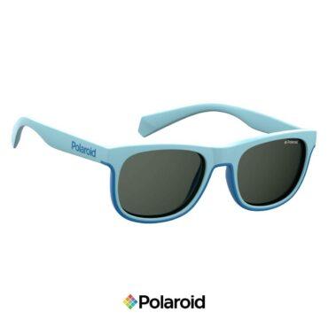 Детски слънчеви очила POLAROID 8035/S FUCHSIA Grey с поляризация