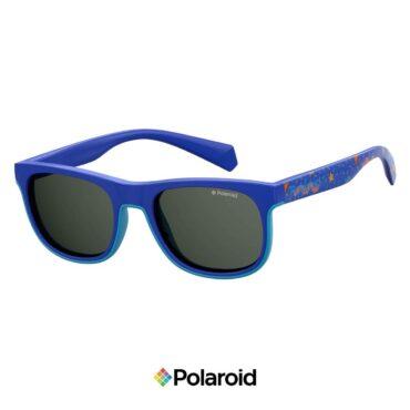 Детски слънчеви очила POLAROID 8035/S BLUE Grey с поляризация