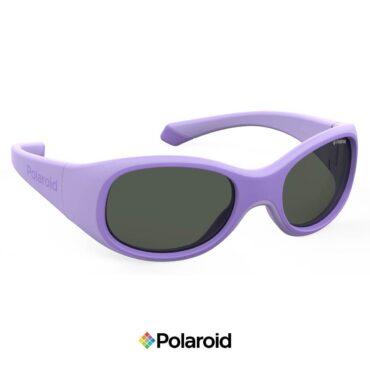 Детски слънчеви очила POLAROID 8038/S VIOLET Grey с поляризация