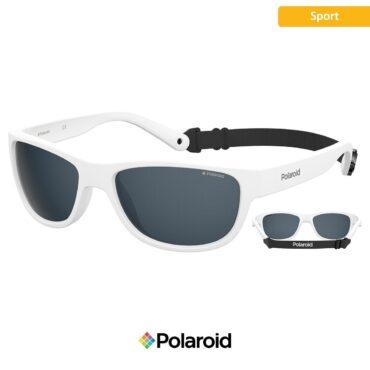 Спортни очила POLAROID 7030/S MATTE WHITE grey с поляризация
