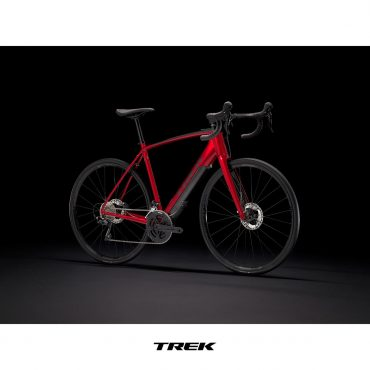 Електрическо шосейно колело TREK DOMANE+ ALR | червено/черно