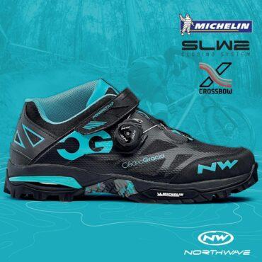 Обувки за планинско колоездене Northwave Enduro MID - синьо