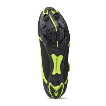 Обувки за планинско колоездене Northwave Ghost XCM - електриково жълто