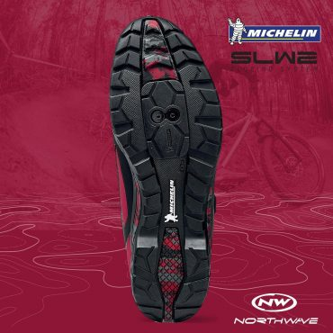Обувки за планинско колоездене Northwave Outcross Plus - червено