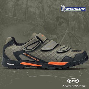 Обувки за планинско колоездене Northwave Outcross plus - зелено