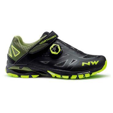 Обувки за планинско колоездене Northwave Spider Plus 2 - зелено