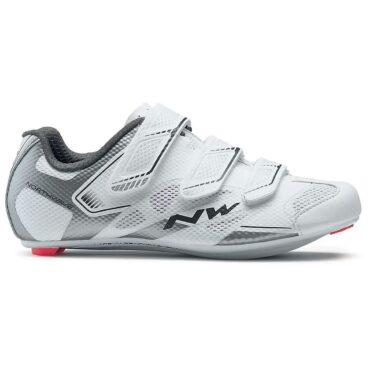 Обувки за шосейно колоездене Northwave Starlight 2 - бяло