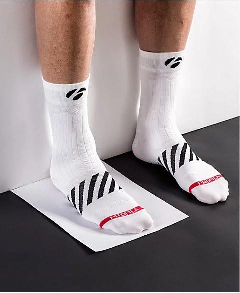Определяне на размера обувки за колело